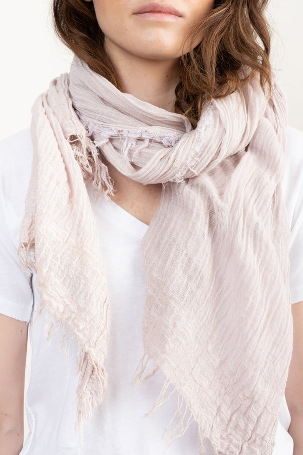 Tamaki Niime Big Shawl In Pink