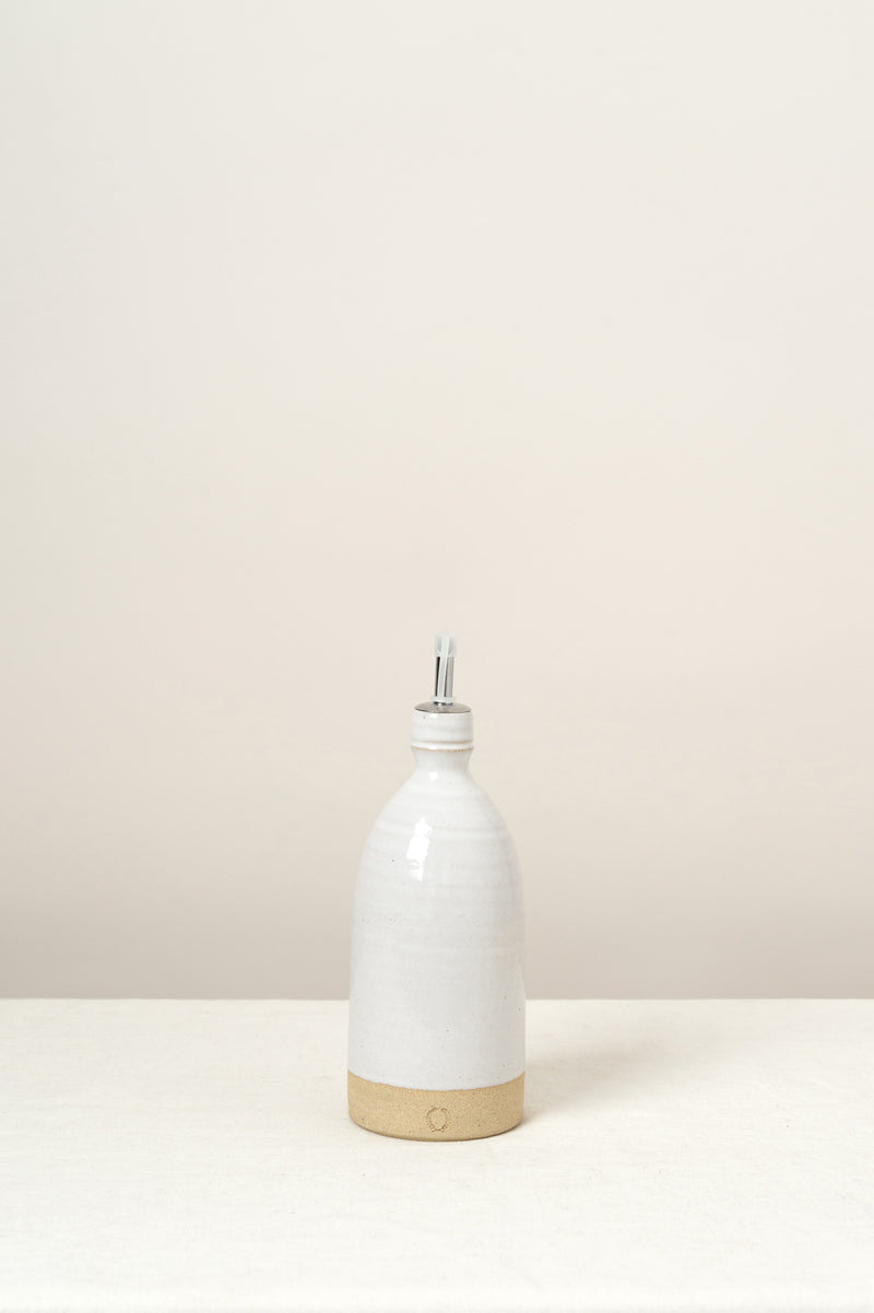 Farmhouse Pottery Olive Oil Bottle