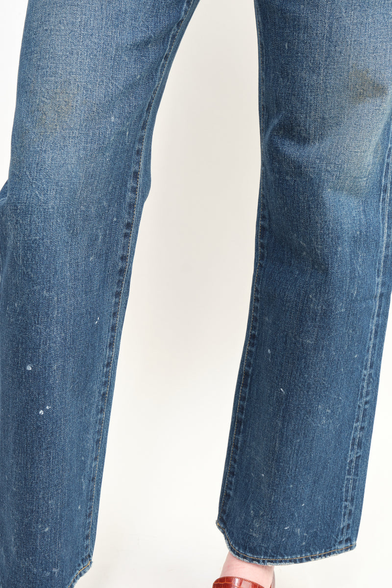 Chimala Selvedge Denim Vintage Deep Rise Fit Japan