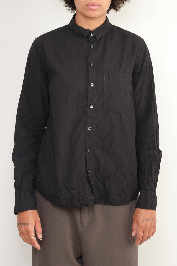 pas de calais button up crinkle
