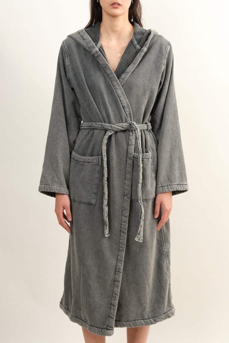 Women's Grey Robe