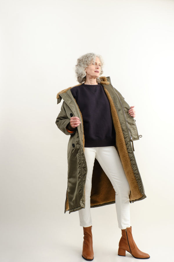 Vis a Vis Faux Fur Lined Long Parka