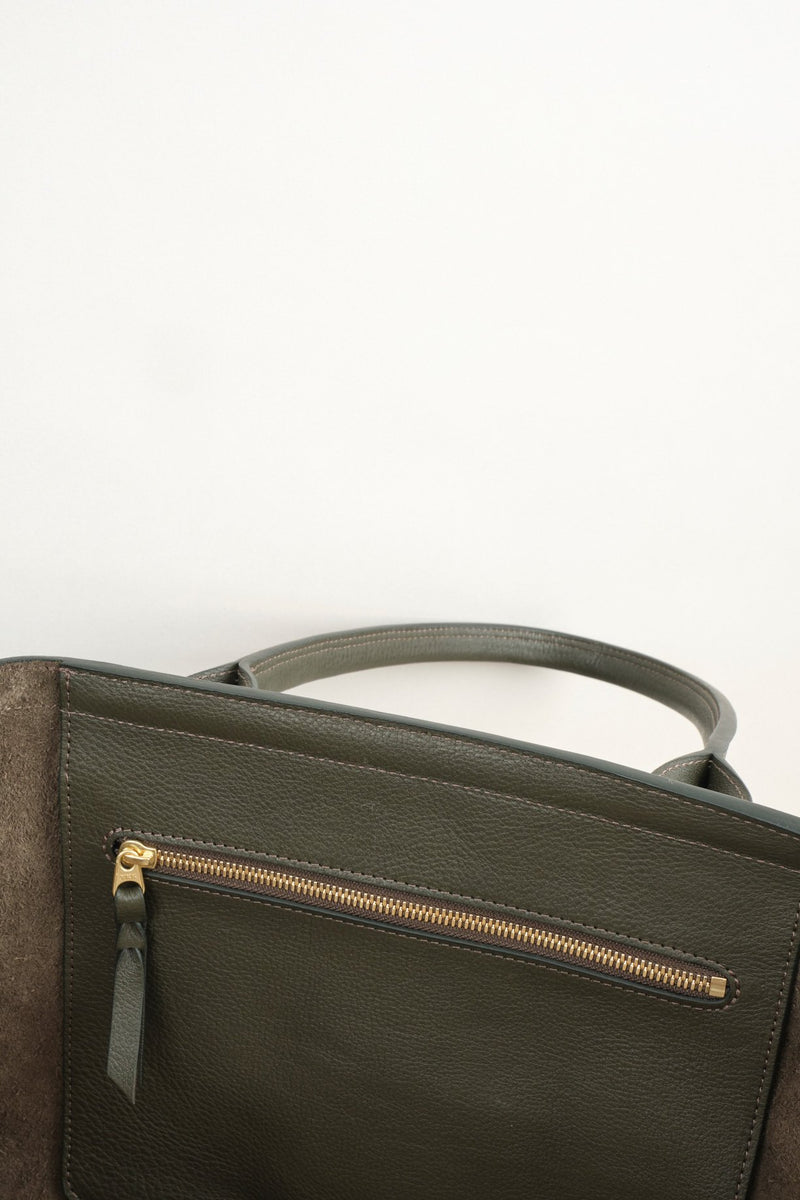 Lotuff Leather Working Tote