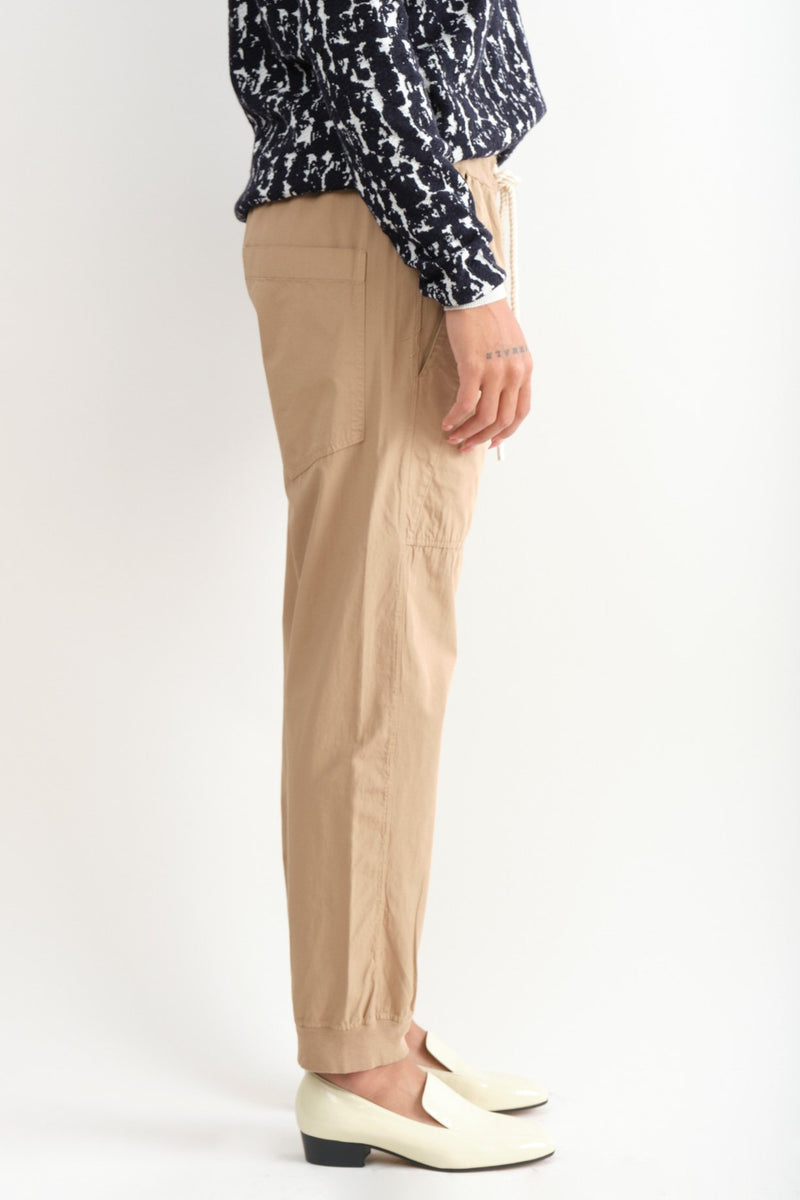 Bassike Utility Cotton Jersey Pant Slim fit