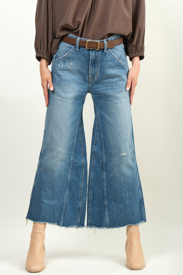 Women's Denim Culotte