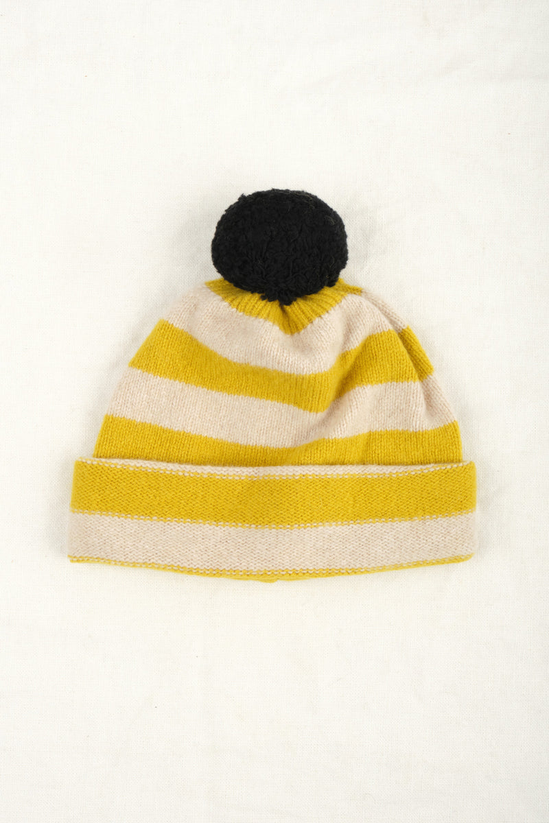 Jo Gordon Stripe Pompom Hat