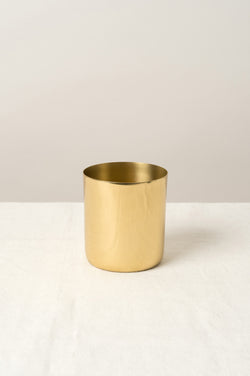 Saarde Toothbrush Holder Brass