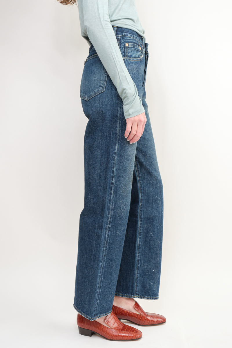 Chimala Selvedge Denim Vintage Deep Rise Fit Relaxed Fit