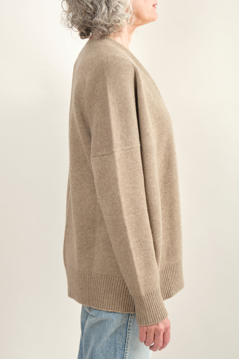 Lauren Manoogian Oversize Simple Cardigan Soft Hand