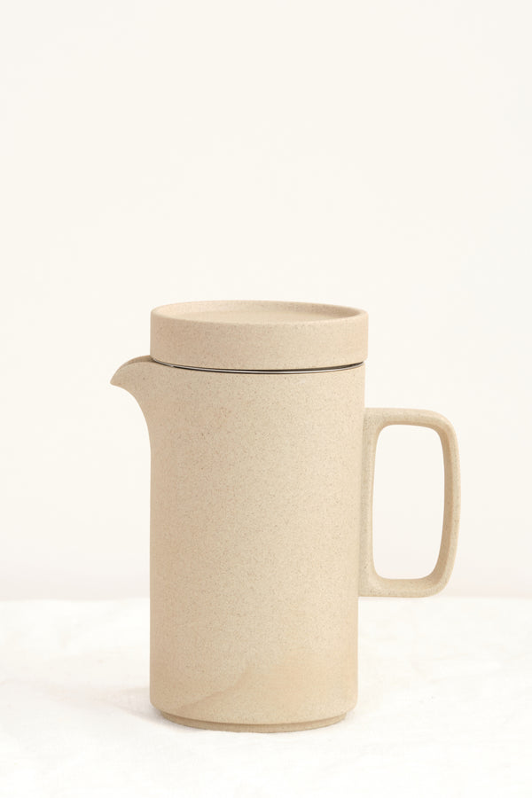 Hasami Porcelain Tall Teapot Natural