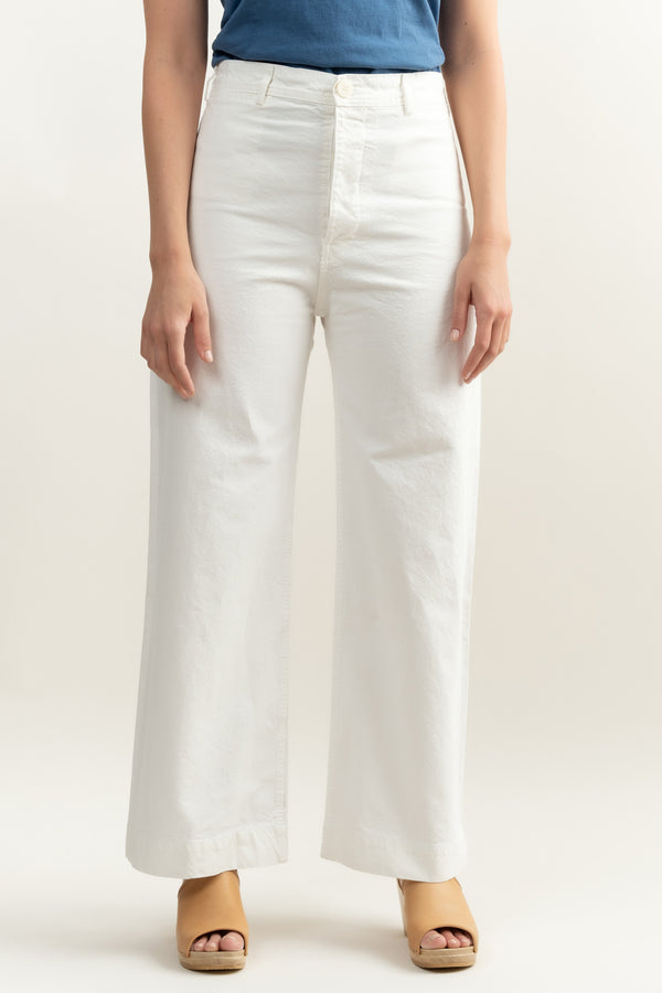 jesse kamm white sailor pants