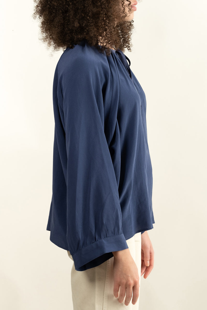 pharaoh collection navy nicki blouse