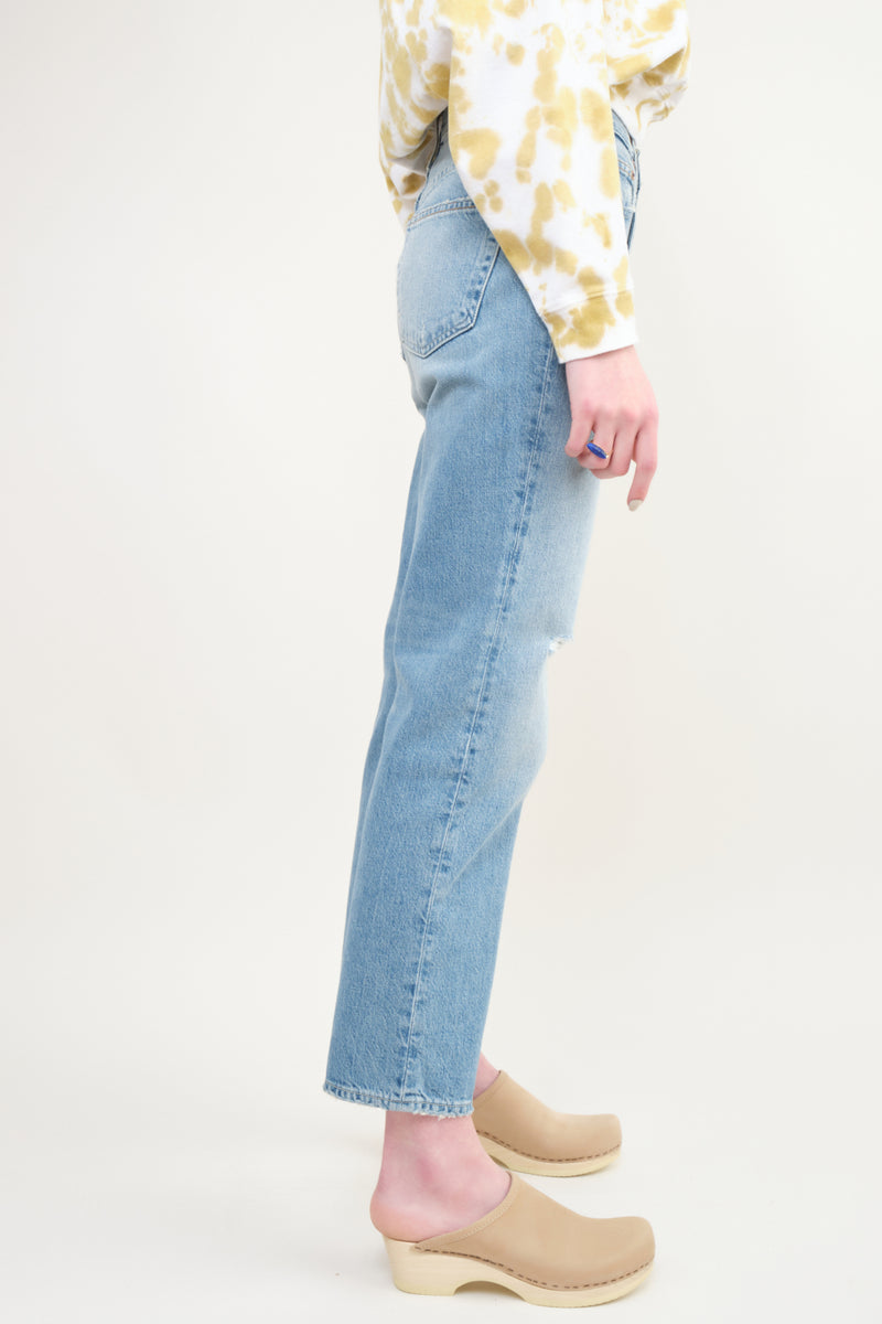 Trave Denim Riley Relaxed Crop
