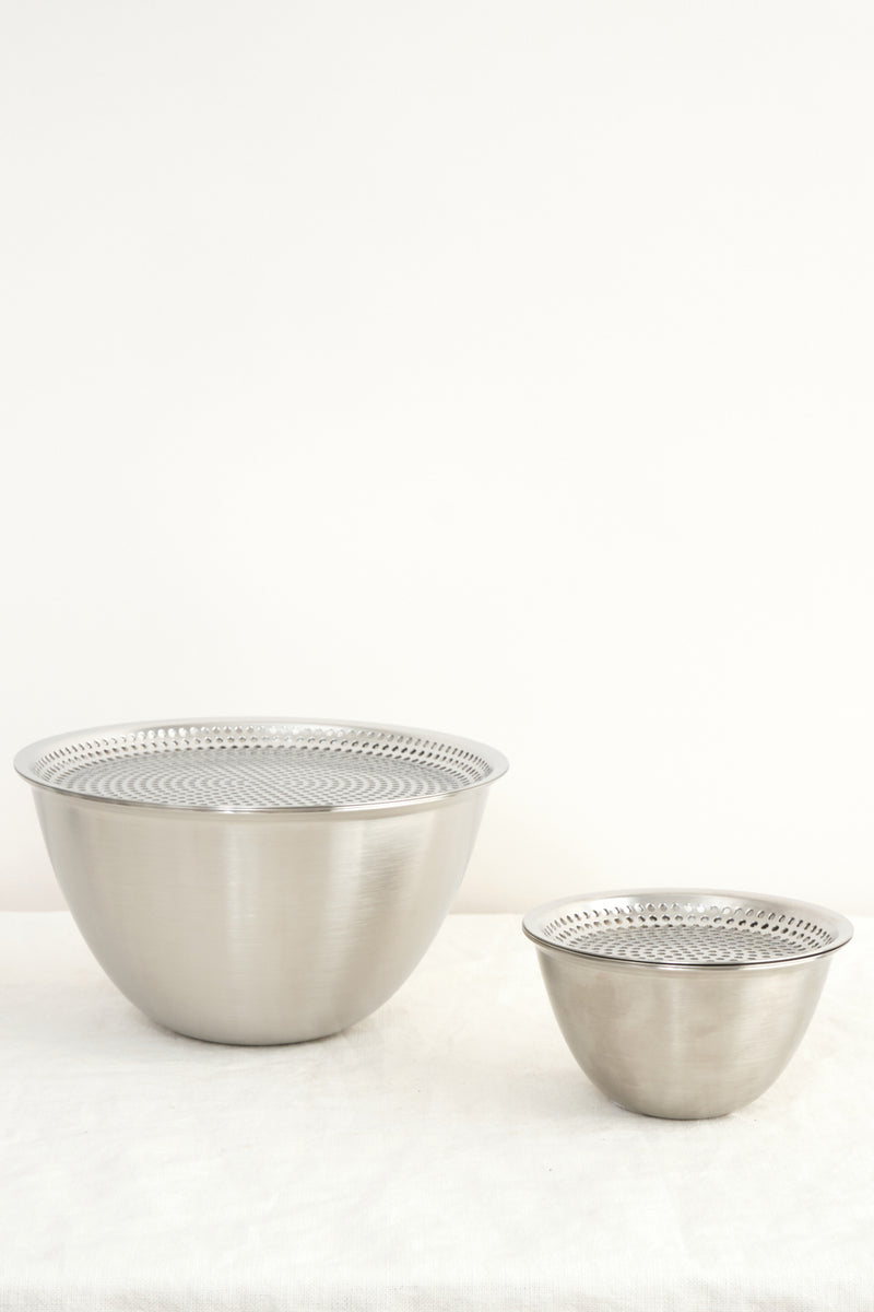 Conte Makanai Bowl 220 With Flat Strainer and Lid