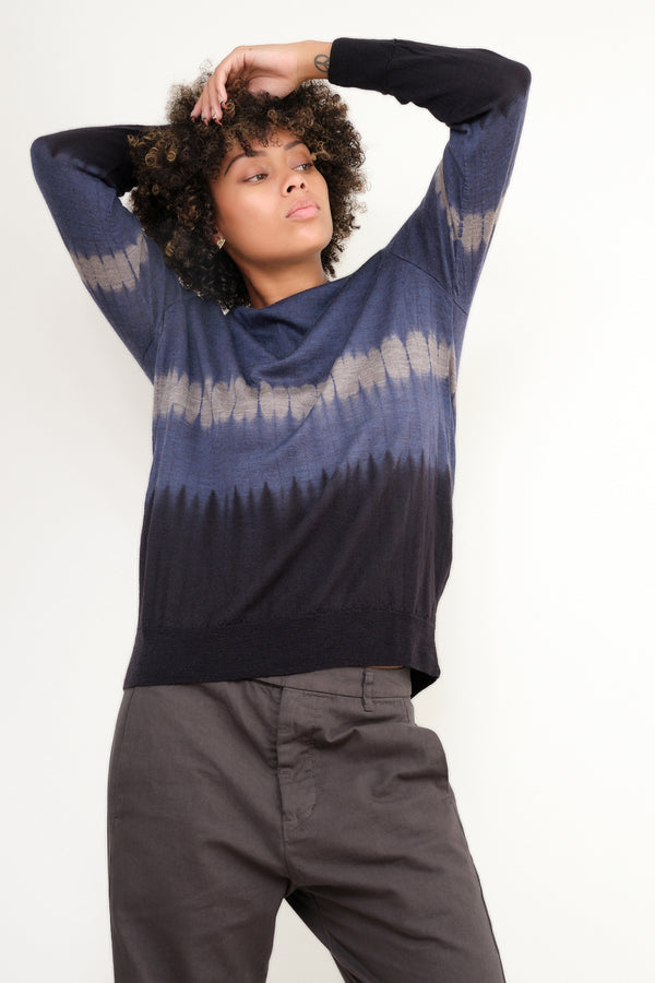 pas de calais hand dyed pulover sweater