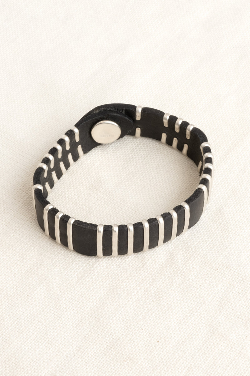 Jill Platner Birch Bark Bracelet Leather