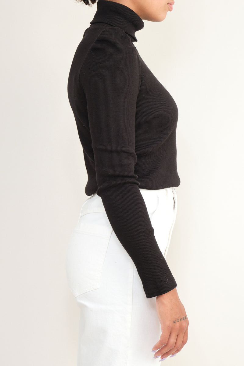 Amo Denim cotton turtle neck