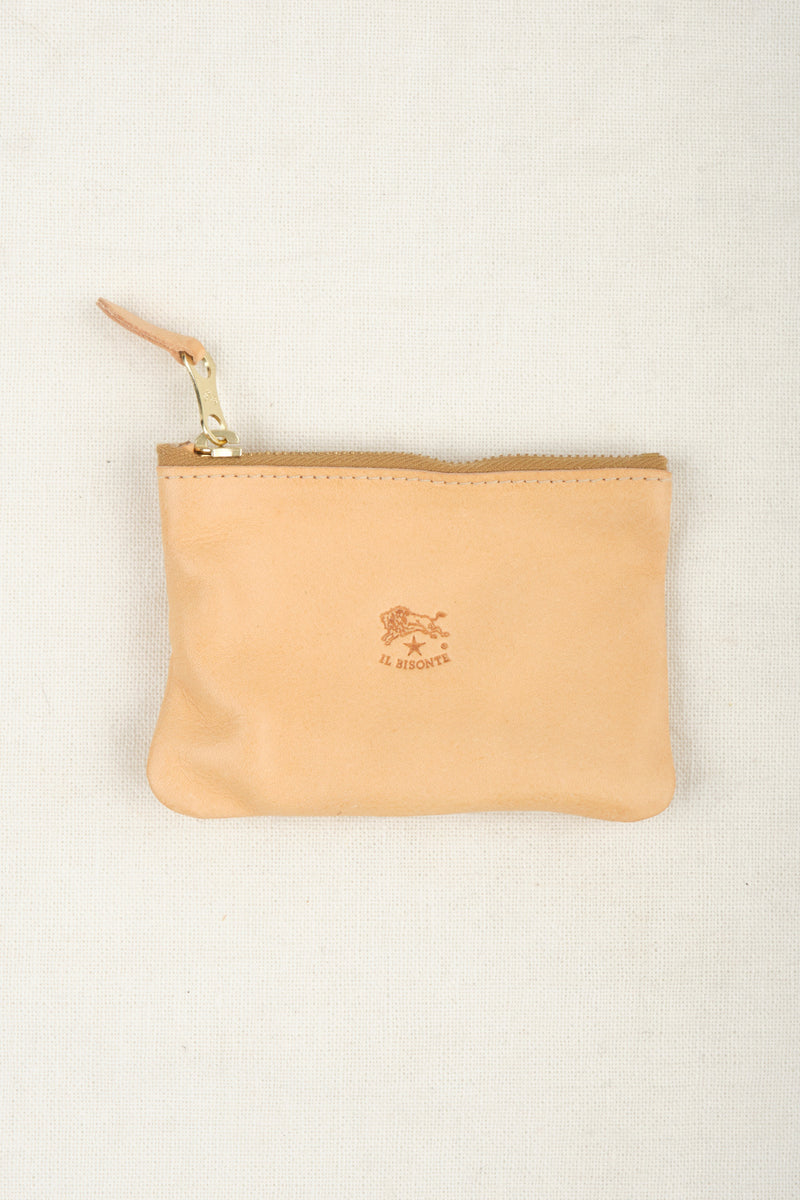 Il Bisonte Coin Purse Naturale