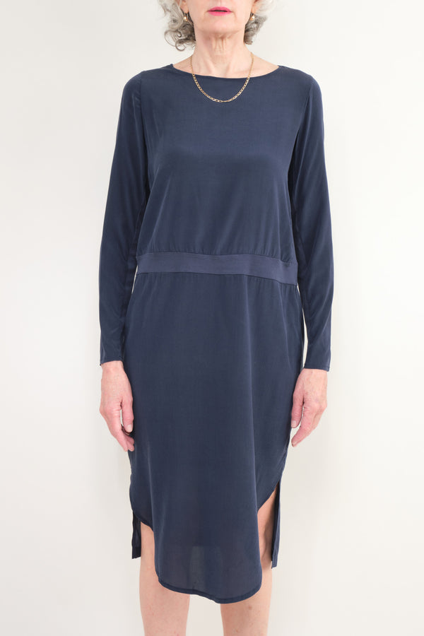 Kristensen du Nord Slim Dress Blue Not