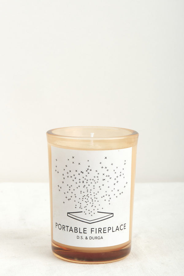 DS & Durga Portable Fireplace Candle NYC