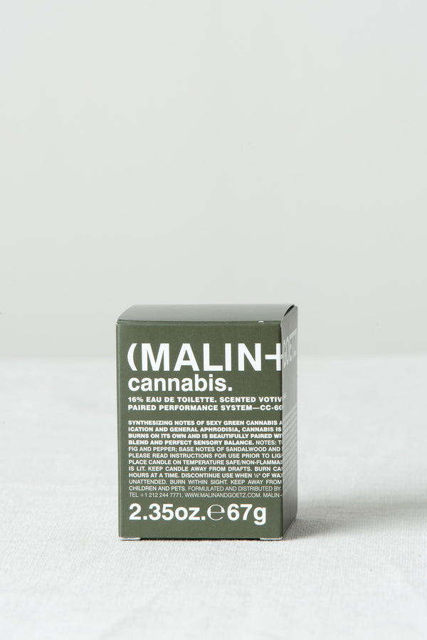 Malin + Goetz Cannabis Votive