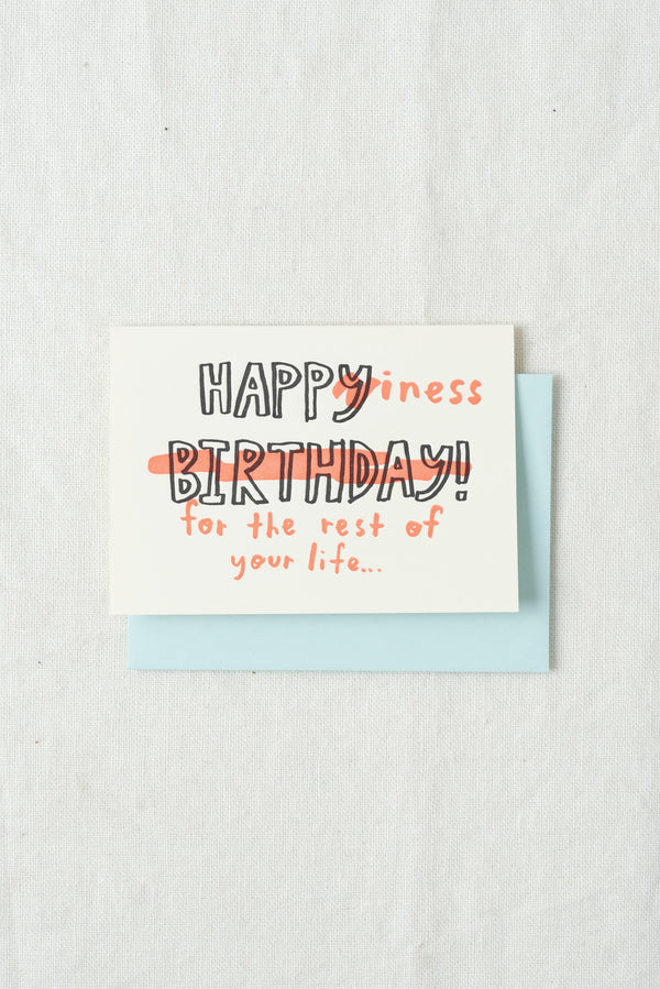 People I've Loved Happiness Birthday Card