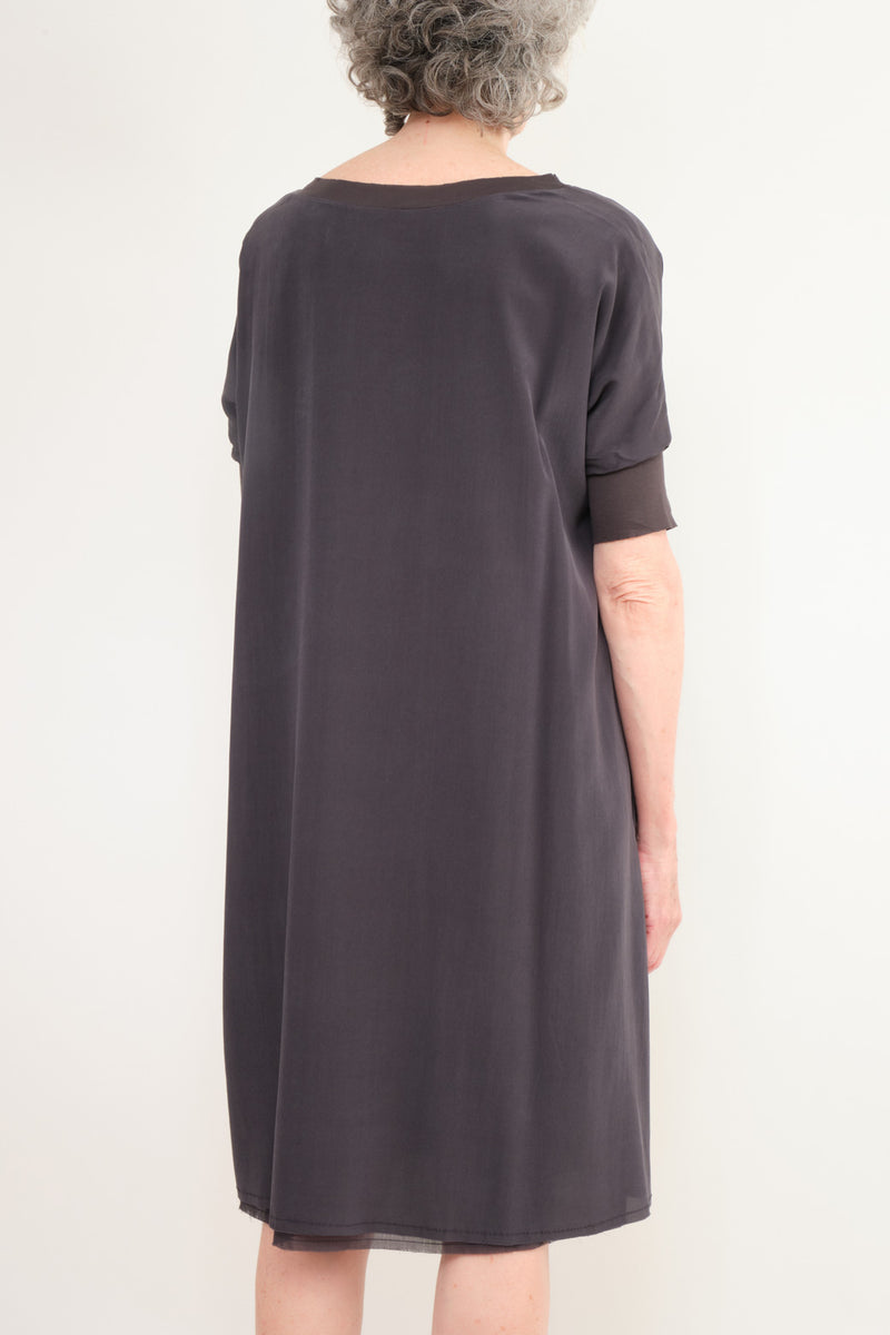 Kristensen du Nord Silk Midi Dress