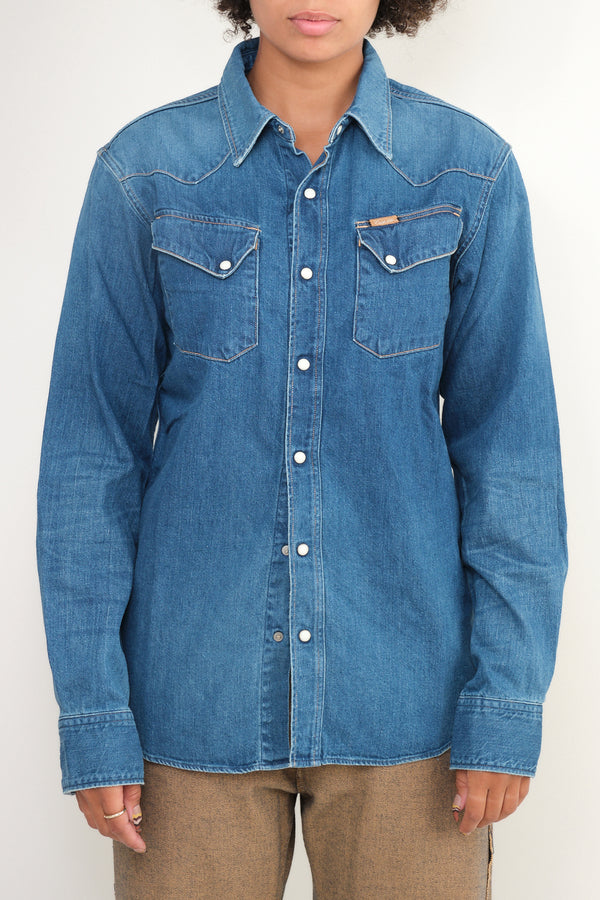 kapital 8oz Denim Western Shirt