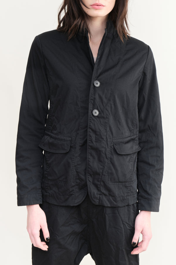 pas de calais Menswear Inspired Jacket Black