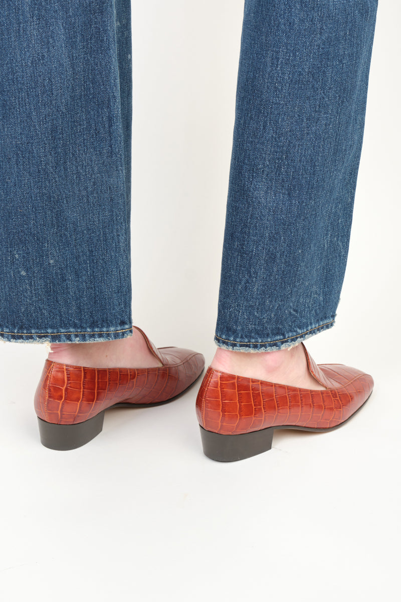Rachel Comey Cheater Flat Printed Leather