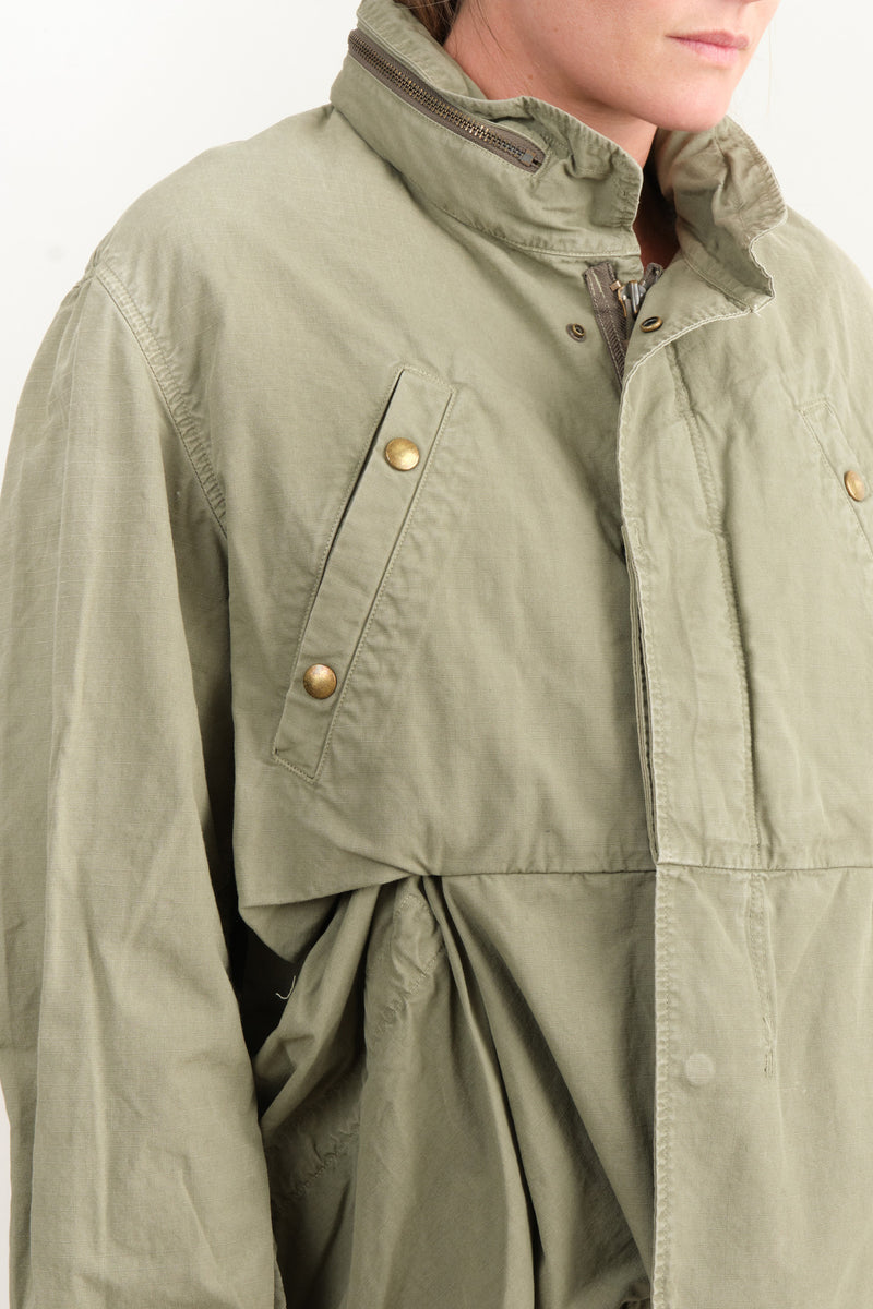 Kapital Rip Stop Army Burger Field Coat Japanese Fashion