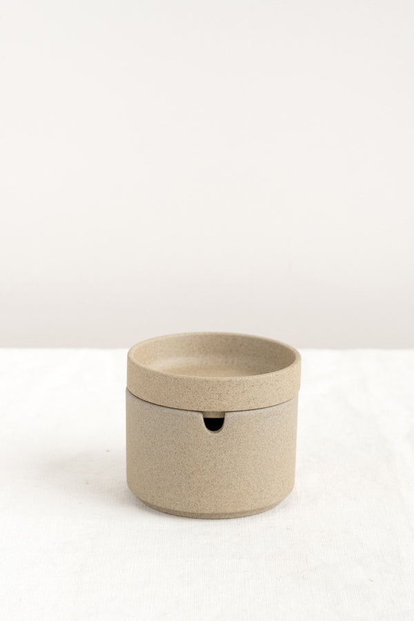 Hasami Porcelain Sugar Pot Natural