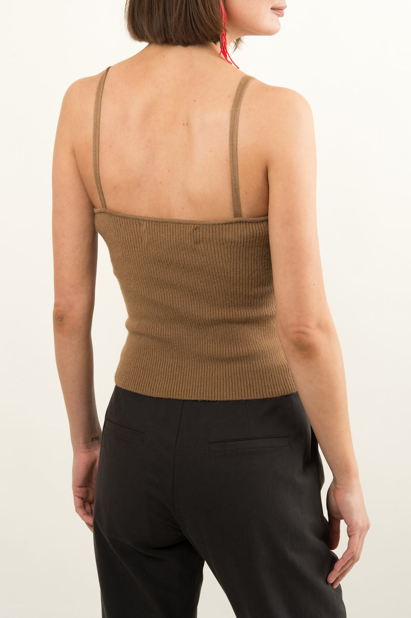 Women's Knit Sweater Tank