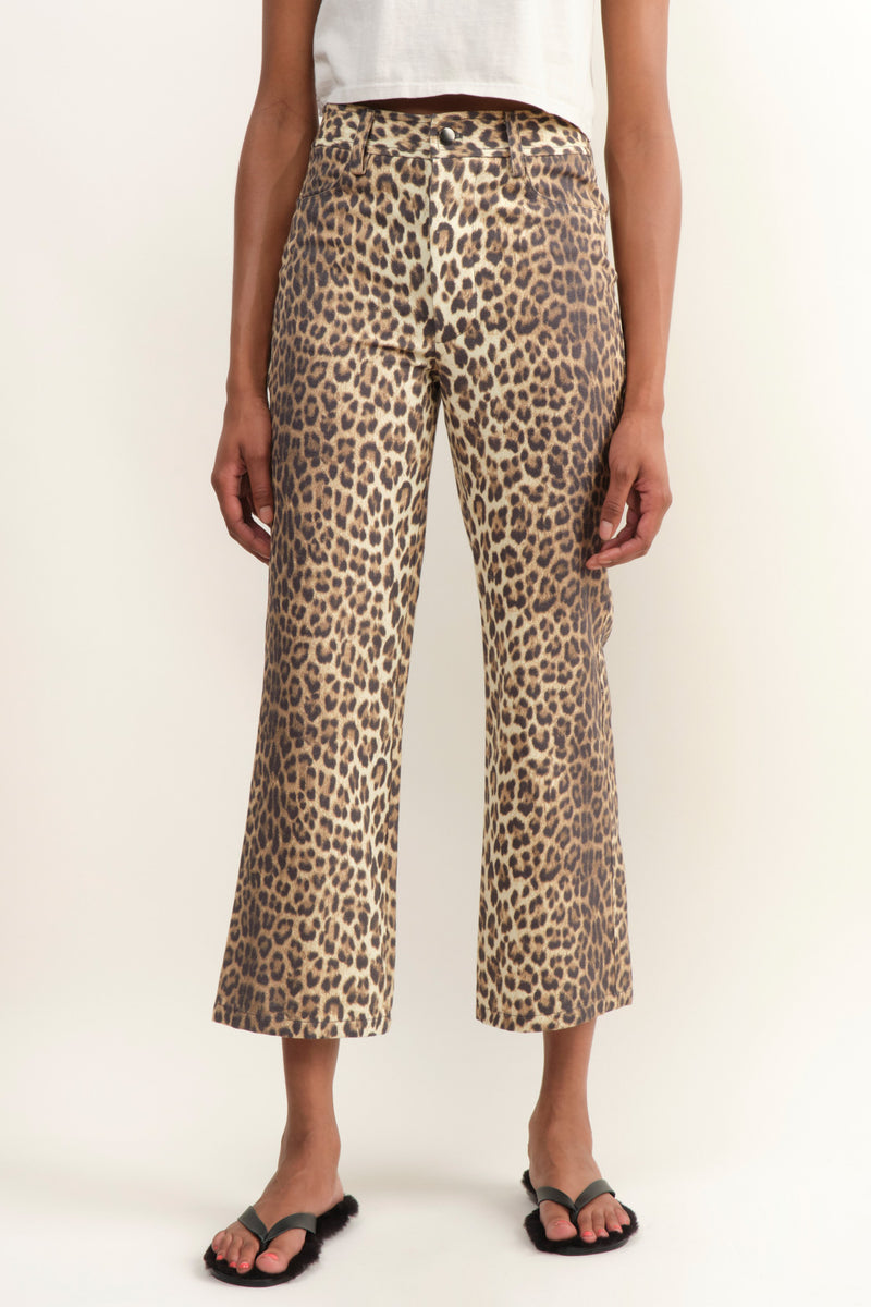 Leopard Tuesday Jean