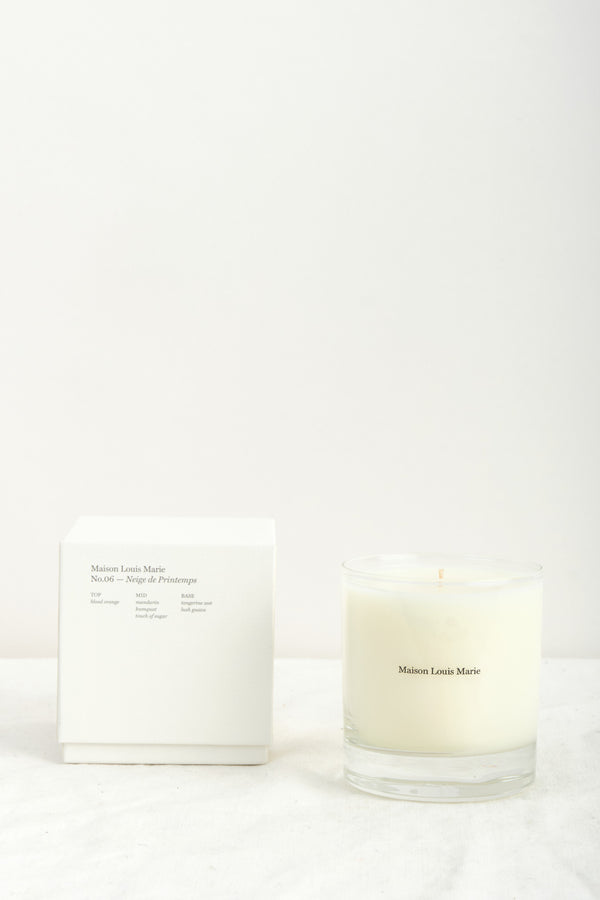 Maison Louis Marie No. 6 Neige de Printemps Candle