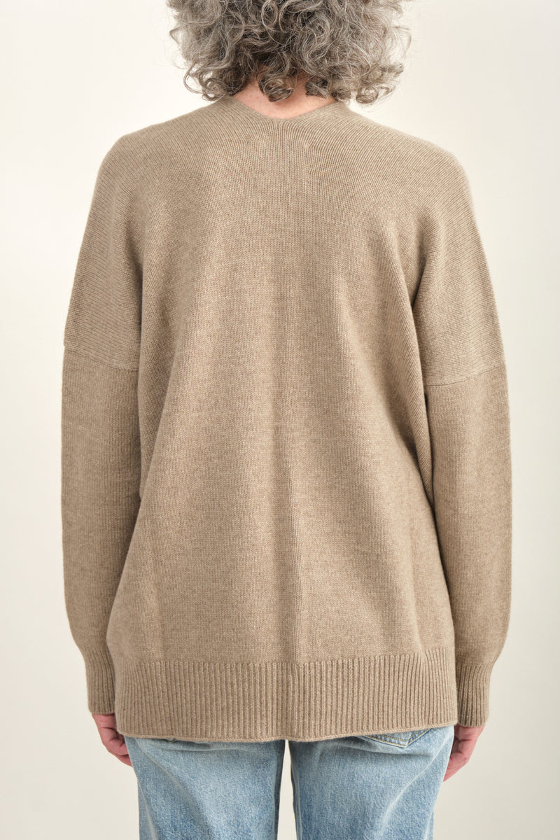 Lauren Manoogian Oversize Simple Cardigan Fall Collection