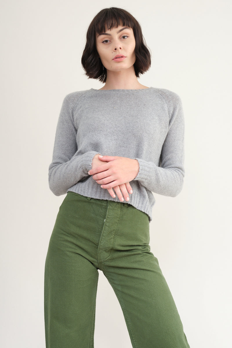 private 0204 P-281 Knitted Cashmere Crewneck