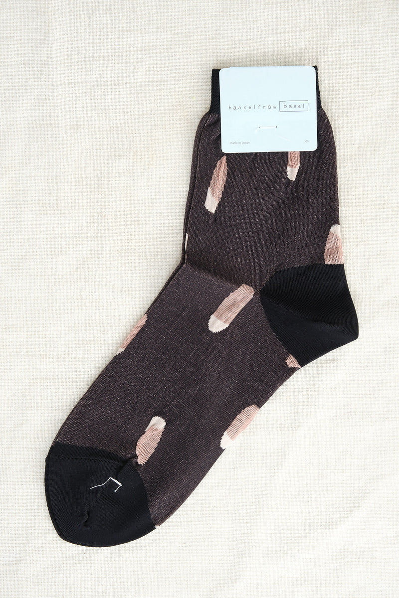 Hansel From Basel tips short crew socks