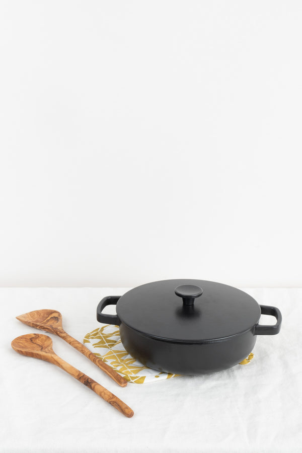 Cast Iron Saute Pan