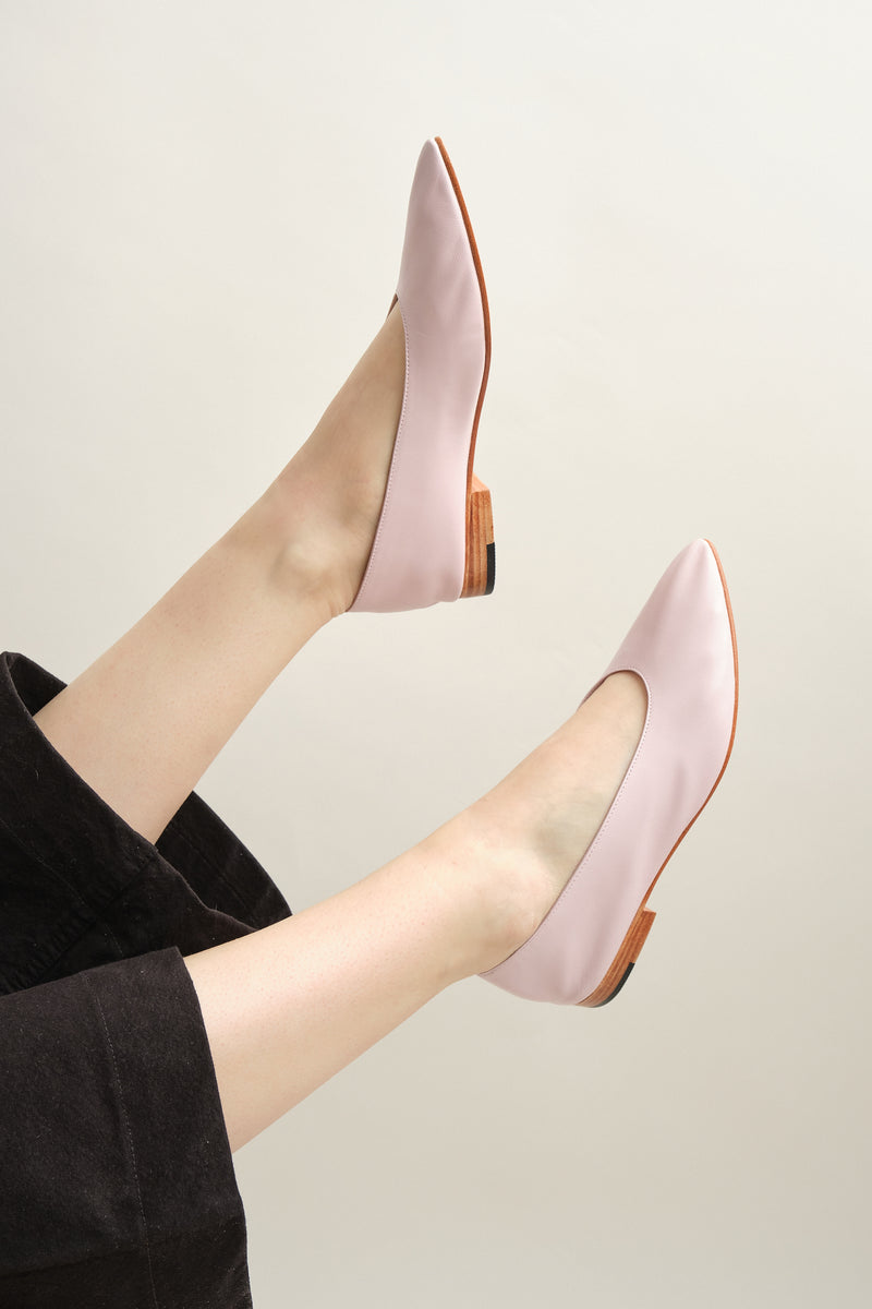 Martiniano party flat in pink