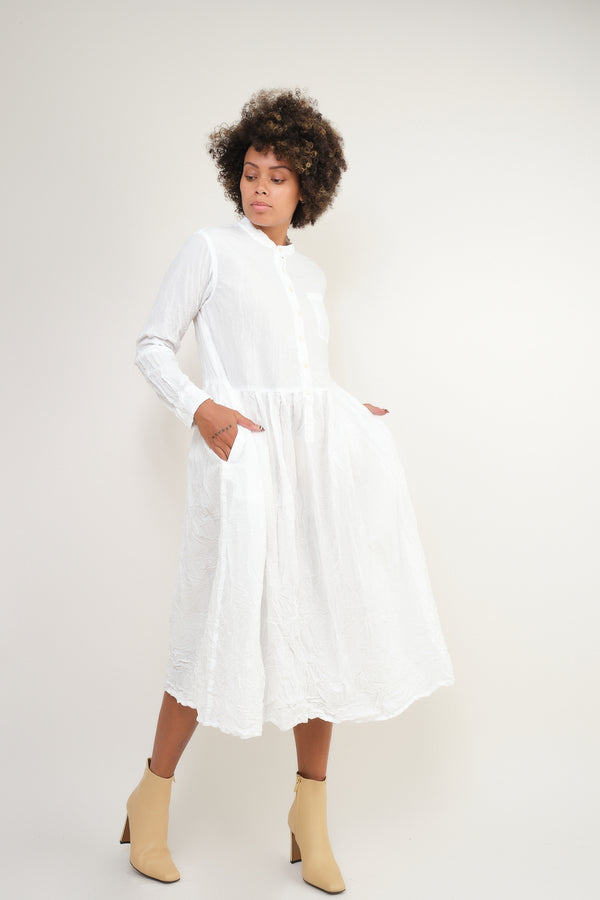 pas de calais white dress