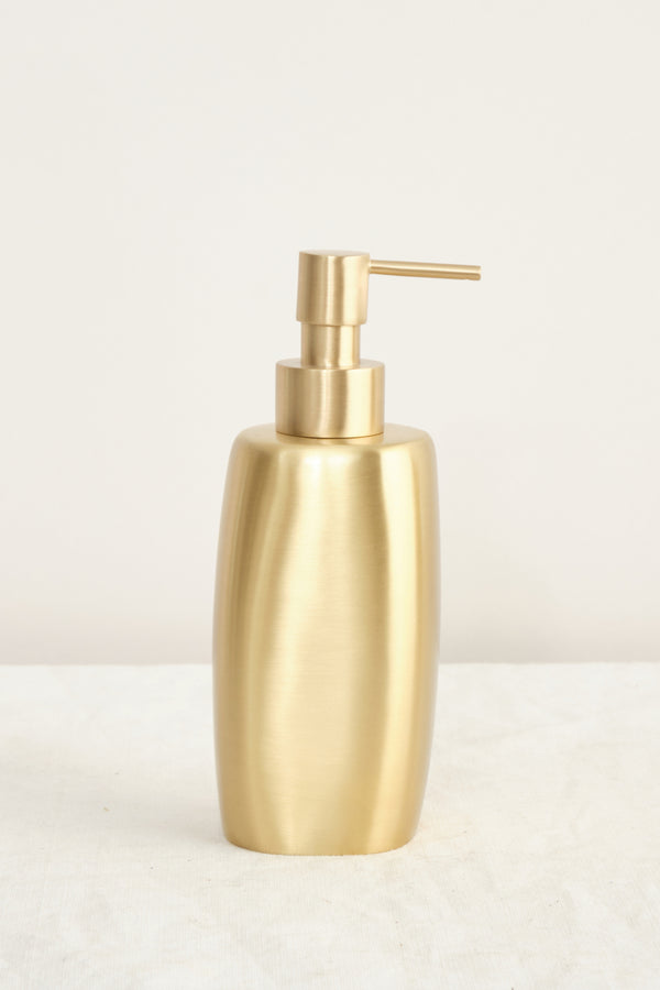 Tina Frey Designs Brushed Brass Soap Bottle