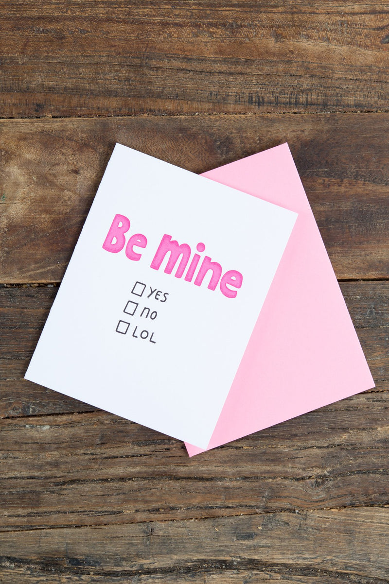 Ashkahn and Co. Be Mine Card