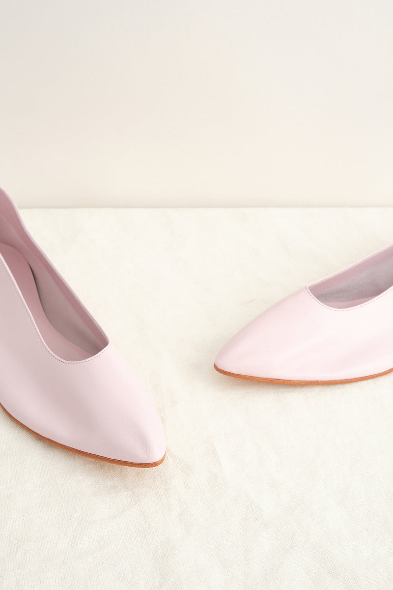 leather flats martiniano