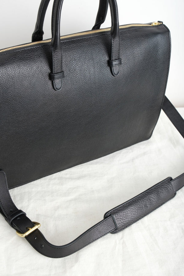 Lotuff The Triumph Briefcase Black