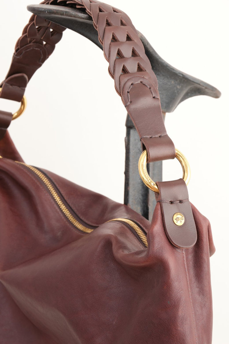 Il Bisonte Borsa a Spalla Brown Leather