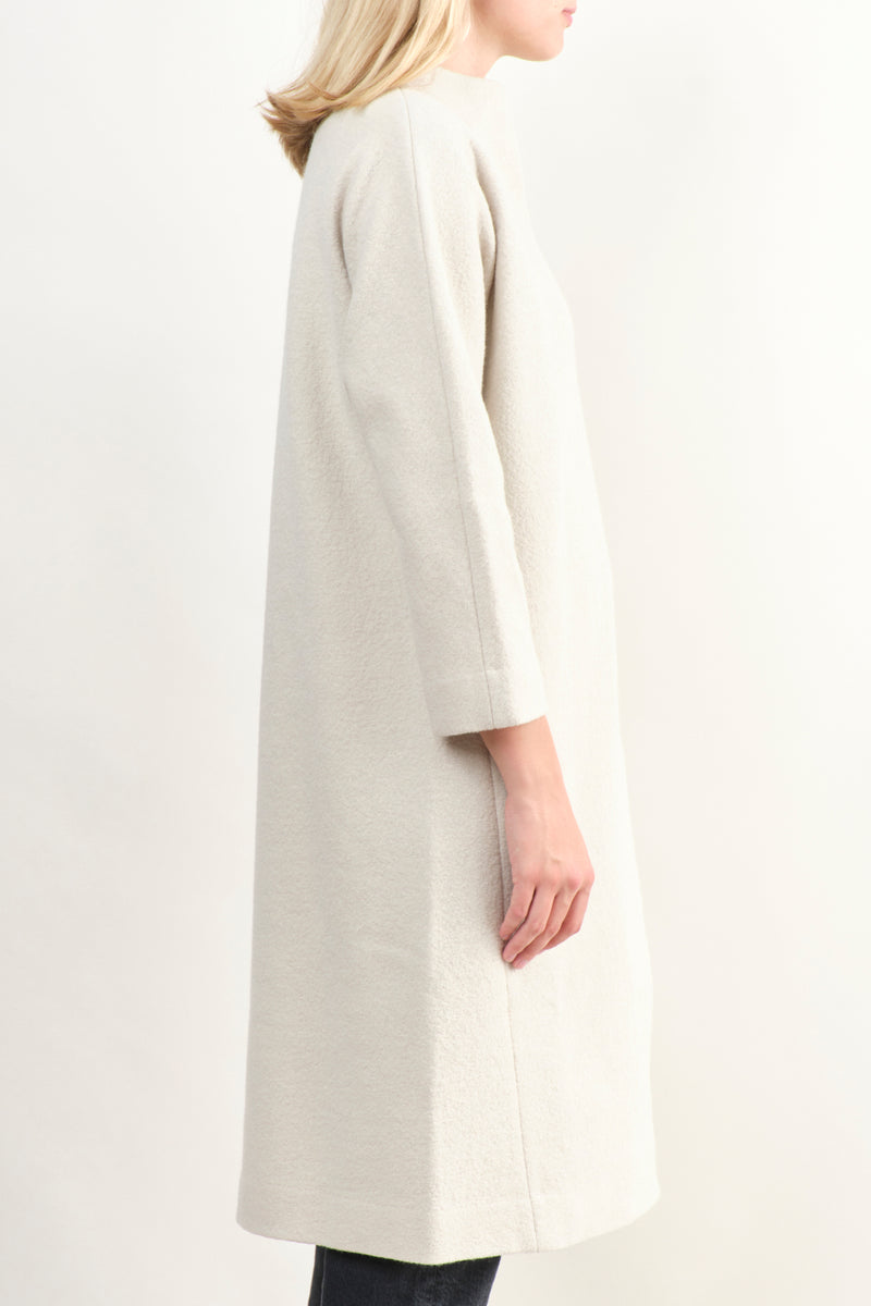 Press Long Wool Coat