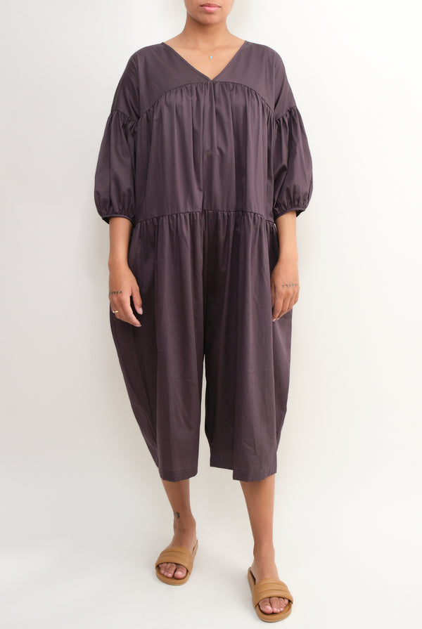 puff jumpsuit Black Crane