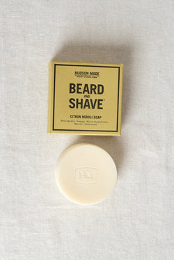 Hudson Made Beard and Shave Soap Citron