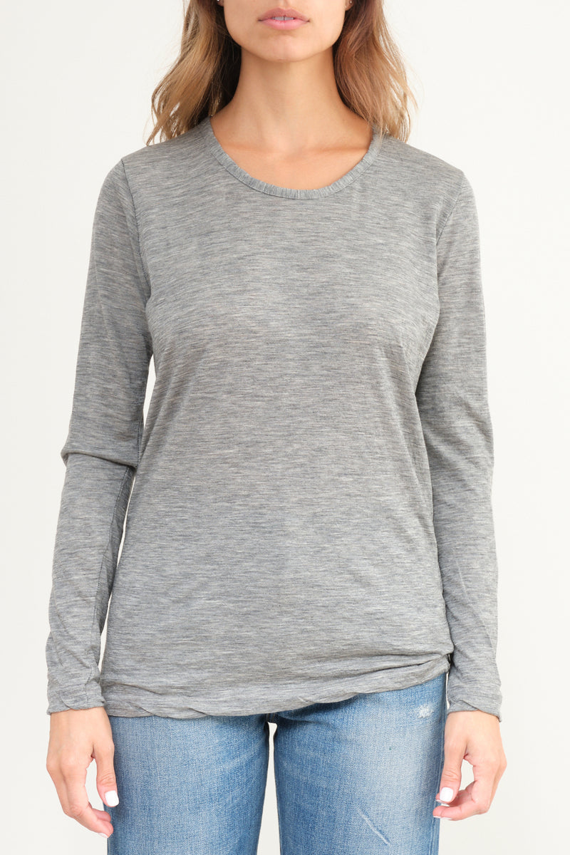 P-261 Hand Washed Cashmere T-Shirt private 0204